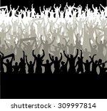 banner for sports championships ... | Shutterstock .eps vector #309997814