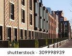 residential district rotterdam...   Shutterstock . vector #309998939