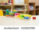 montessori material  ... | Shutterstock . vector #310002980