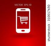 online shopping | Shutterstock .eps vector #310017650