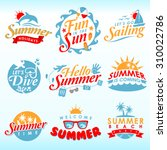 summer design element | Shutterstock .eps vector #310022786