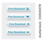 vector web interface buttons.... | Shutterstock .eps vector #310031078