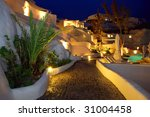 lovely nights atmosphere on the ... | Shutterstock . vector #31004458