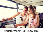 friendship  summer vacation ... | Shutterstock . vector #310057103