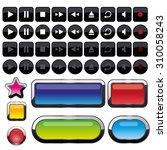 button vector  | Shutterstock .eps vector #310058243