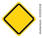 vector illustration of warning... | Shutterstock .eps vector #310102118