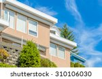the top of the house with nice... | Shutterstock . vector #310106030