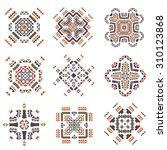 vector tribal elements. ethnic...   Shutterstock .eps vector #310123868