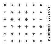 star icons set | Shutterstock .eps vector #310137359