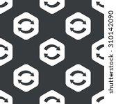 image of exchange symbol in... | Shutterstock . vector #310142090