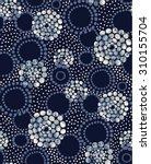 pattern   circles   dots  ... | Shutterstock .eps vector #310155704