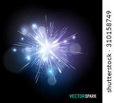 a beautiful bright spark   ... | Shutterstock .eps vector #310158749