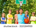 arabian boy with international... | Shutterstock . vector #310184900
