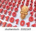 virus  maware or spyware......   Shutterstock . vector #3102165