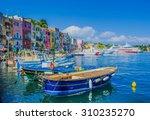 procida  italy  july 2  2014 ... | Shutterstock . vector #310235270