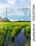 Landscape Of High Voltage Powe...