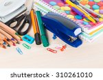 school  stationary  equipment | Shutterstock . vector #310261010