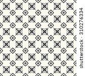 vector seamless pattern.... | Shutterstock .eps vector #310276334