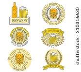 set of badges  labels  design... | Shutterstock .eps vector #310316630