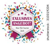 "german text ""exklusives angebot""... 
