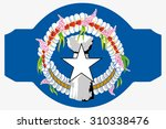 a flag illustration within a... | Shutterstock . vector #310338476