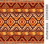 ethnic ornament. seamless... | Shutterstock .eps vector #310343360