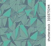 seamless geometric vector...   Shutterstock .eps vector #310375244