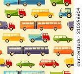seamless baby background with... | Shutterstock . vector #310396604