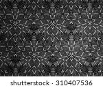 pattern cloth black and white | Shutterstock . vector #310407536