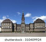 christiansborg palace in... | Shutterstock . vector #310409924