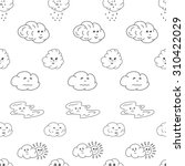 doodle vector illustration...   Shutterstock .eps vector #310422029