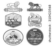 set of vector labels with main... | Shutterstock .eps vector #310423568