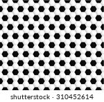 seamless pattern with black and ... | Shutterstock .eps vector #310452614