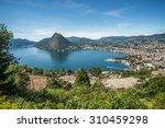Panoramic View Of Lugano ...