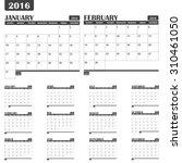 Calendar Planner 12 Months In...