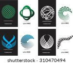 abstract logo design.logo... | Shutterstock .eps vector #310470494