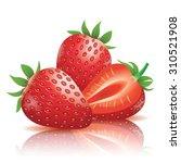 Realistic Strawberry...