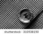 detail closeup close up of suit ... | Shutterstock . vector #310538150