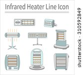 set of trendy line icons for... | Shutterstock .eps vector #310592849