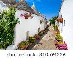 alberobello  italy  puglia.... | Shutterstock . vector #310594226