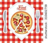 fast food design  vector... | Shutterstock .eps vector #310602758