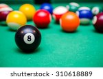 8 Ball From Pool Or Billiards...