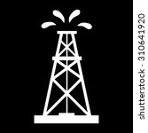 oil rig icon.    Shutterstock .eps vector #310641920