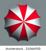 umbrella | Shutterstock . vector #31066930