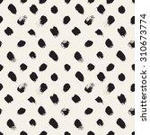 vector seamless pattern.... | Shutterstock .eps vector #310673774