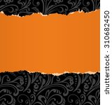 torn paper with space for text. ...   Shutterstock .eps vector #310682450