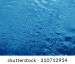 dark blue paint textured water... | Shutterstock . vector #310712954