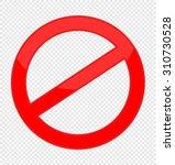 prohibited | Shutterstock .eps vector #310730528