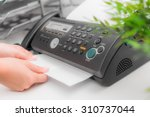 Fax machine  office