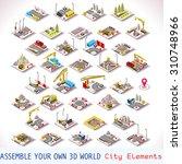 power energy plant urban... | Shutterstock .eps vector #310748966